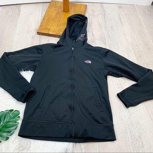 North Face Black Full Zip Printed Hood Jacket 3102